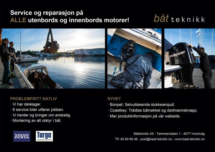 Båt Teknikk AS - Annonse - A4 - 2017