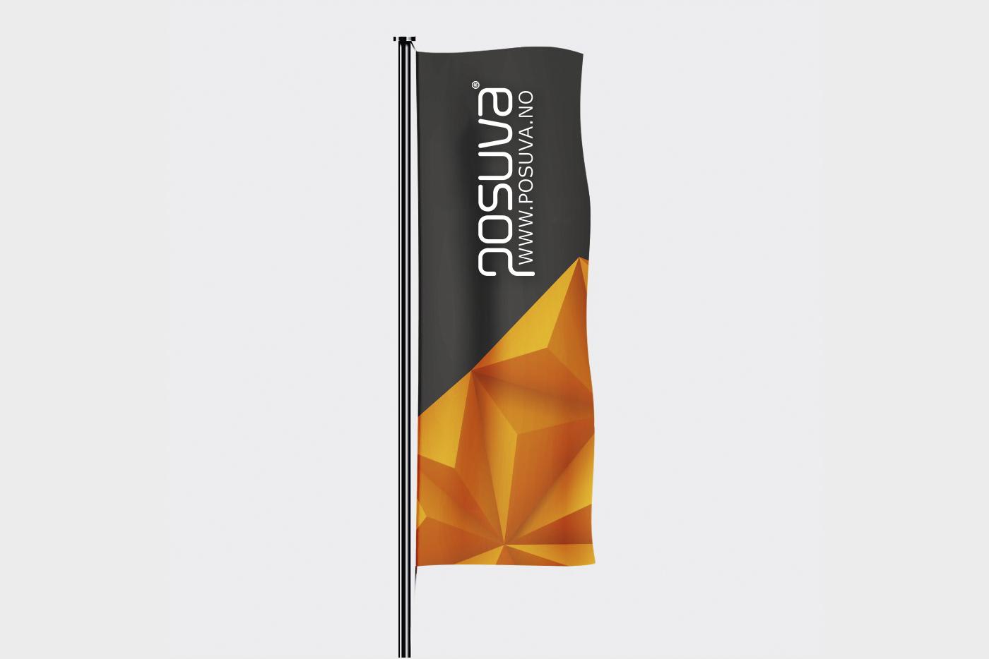 Flagg Stående